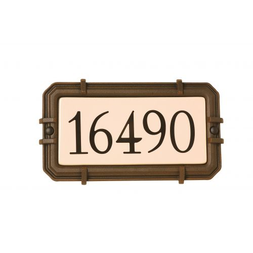 Boite aux lettres et plaque adresse SNOC 1