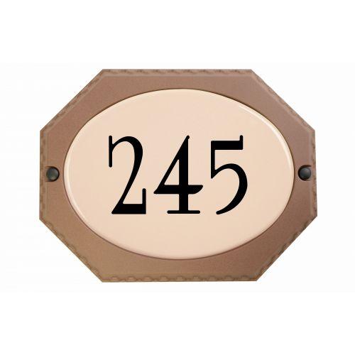Boite aux lettres et plaque adresse SNOC 12