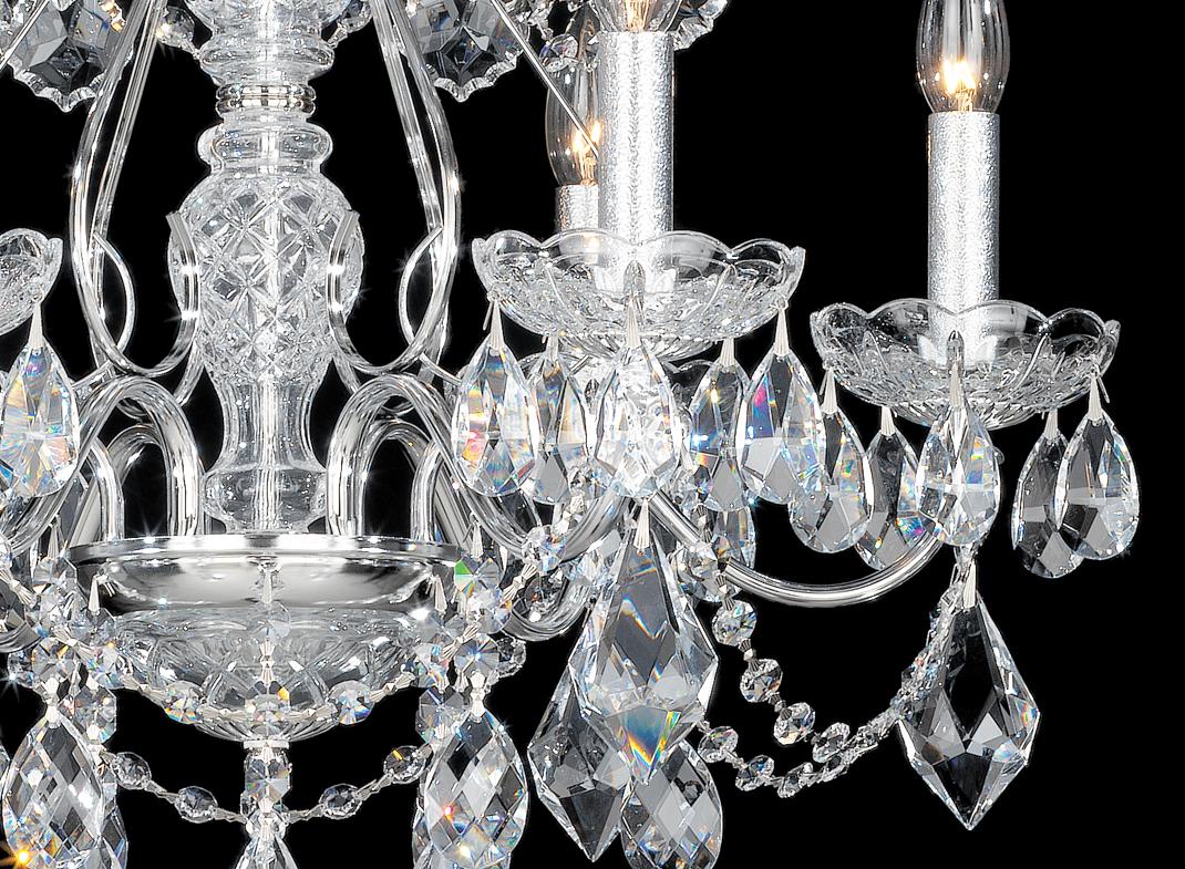 Le Cristal Symbole De Pureté Et Délégance Multi Luminaire
