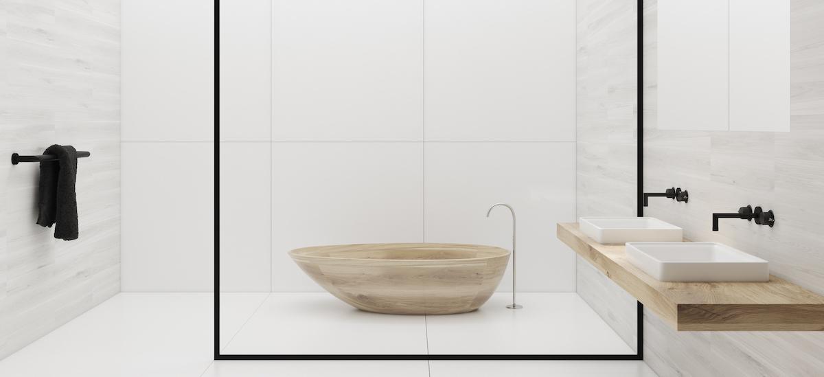 Tendance salle de bain 2020 multi luminaire - Tendance carrelage salle de bain 2020 ...