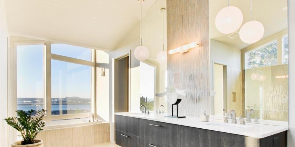 Pièce 101: la salle de bain | Multi Luminaire
