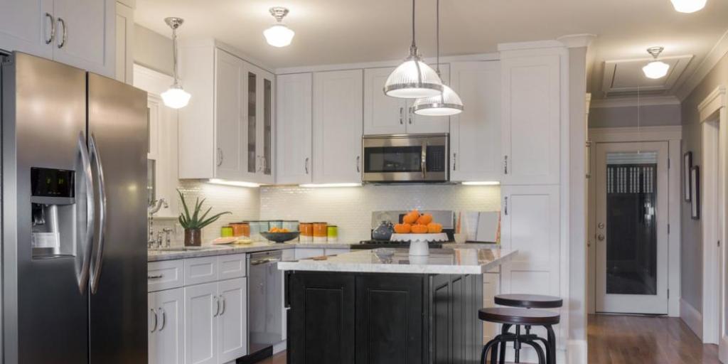 Luminaire ilot de cuisine clairage cuisine faux plafond - Luminaire suspendu design cuisine ...