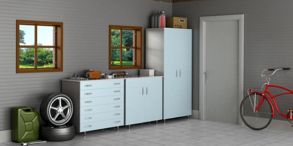 astuces pour un garage ou un cabanon bien rang multi luminaire. Black Bedroom Furniture Sets. Home Design Ideas