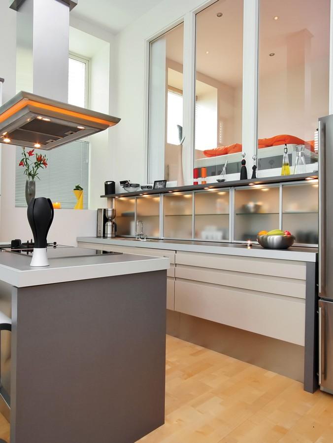 cuisine encastr moderne multi luminaire. Black Bedroom Furniture Sets. Home Design Ideas