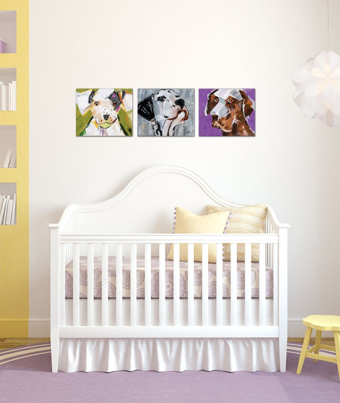 chambre enfant art mural transitionnel luminaires multi luminaire. Black Bedroom Furniture Sets. Home Design Ideas