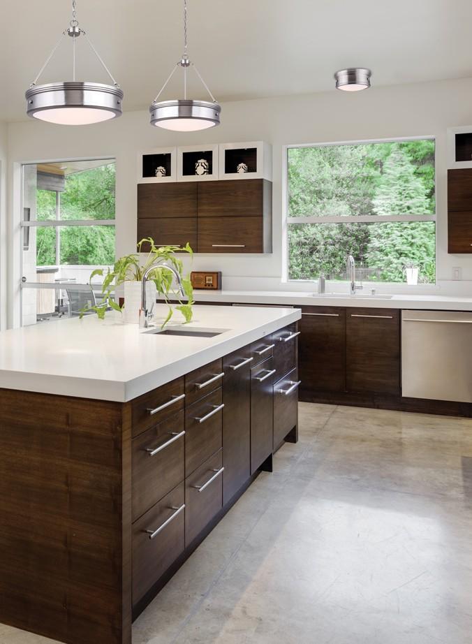 cuisine suspendu et plafonnier contemporain luminaires. Black Bedroom Furniture Sets. Home Design Ideas