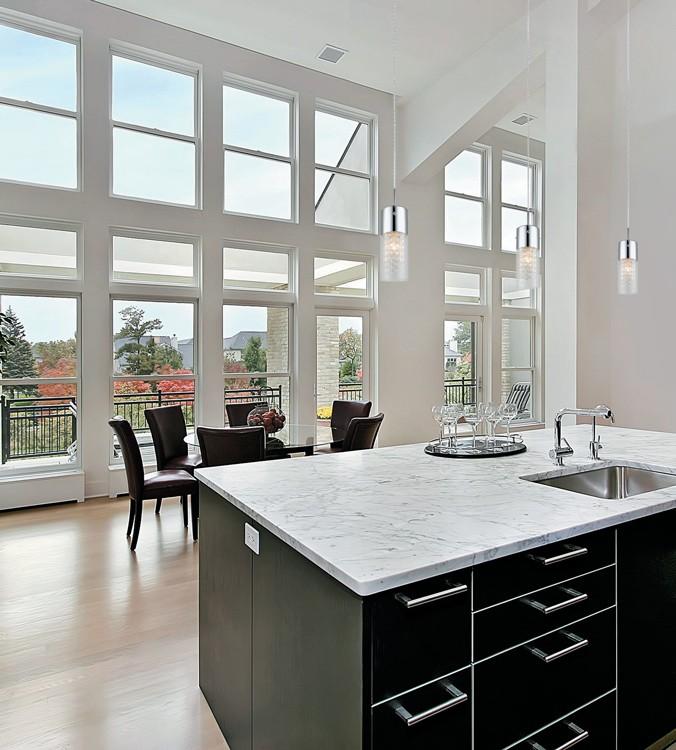 cuisine contemporain lot suspendu simple cristal luminaires multi luminaire. Black Bedroom Furniture Sets. Home Design Ideas