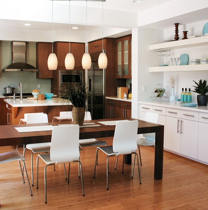 salle manger suspendu contemporain luminaires multi luminaire. Black Bedroom Furniture Sets. Home Design Ideas