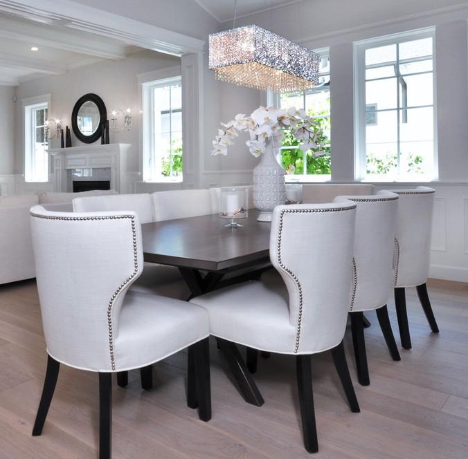salle manger lustre cristal contemporain luminaires multi luminaire. Black Bedroom Furniture Sets. Home Design Ideas