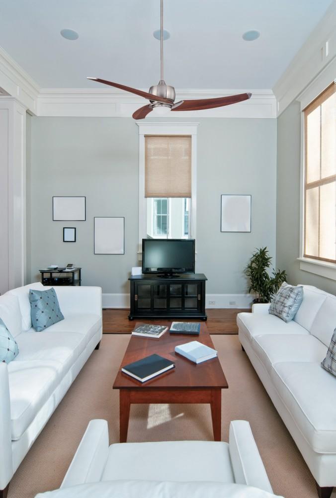Salon ventilateur contemporain luminaires multi luminaire for Ventilateur de salon