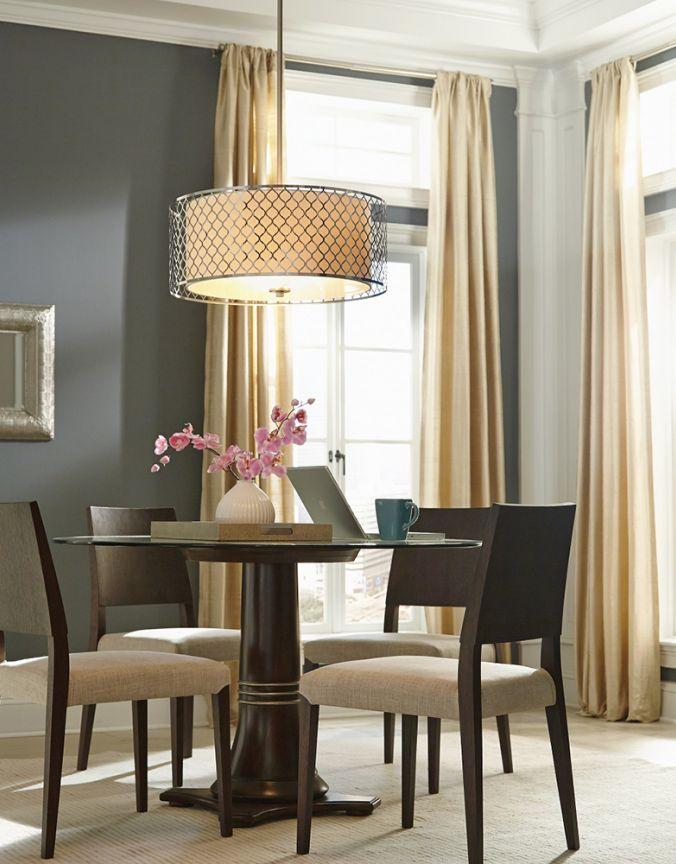 salle a manger suspendu contemporain luminaires multi luminaire. Black Bedroom Furniture Sets. Home Design Ideas