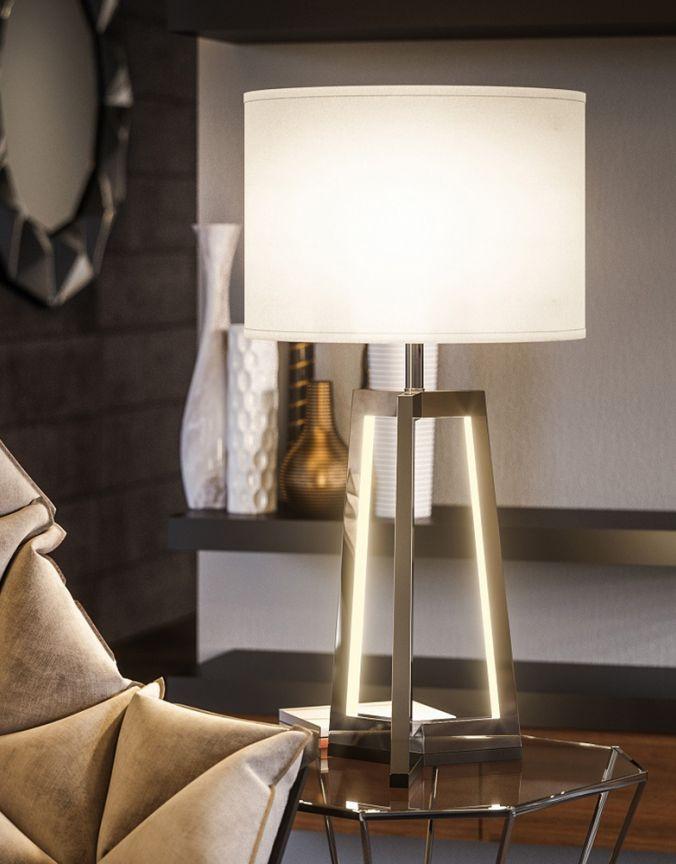 salon lampe de table moderne luminaires multi luminaire. Black Bedroom Furniture Sets. Home Design Ideas