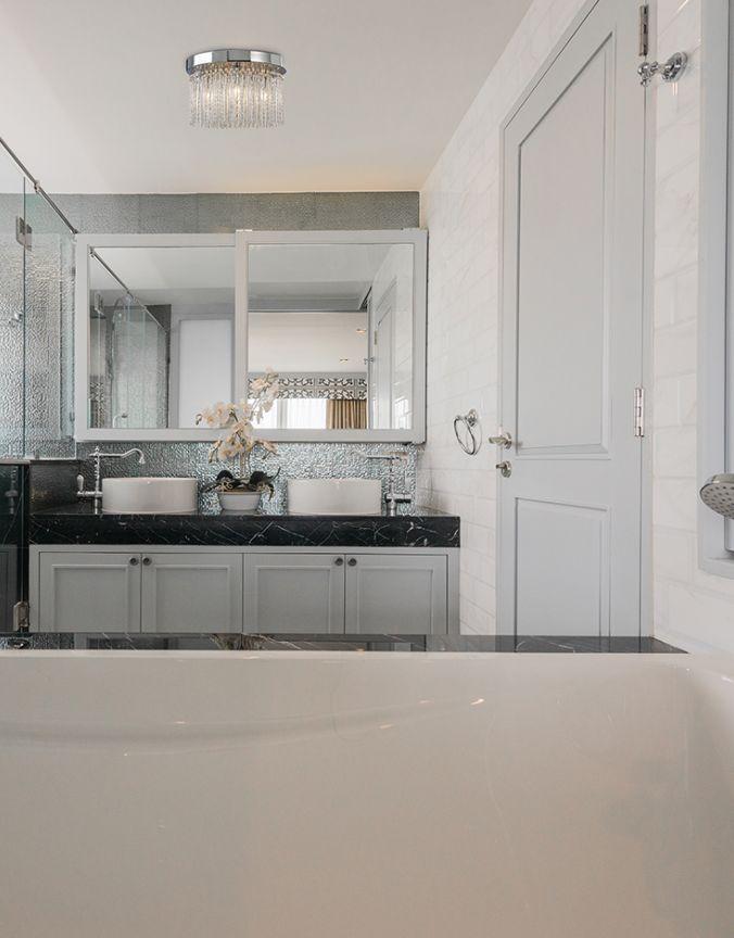 Salle de bain plafonnier contemporain luminaires multi luminaire - Plafonnier design salle de bain ...