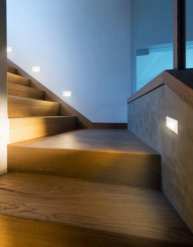 eclairage marche escalier exterieur Marches-escaliersEncastré murale extérieur SONICKuzco Lighting