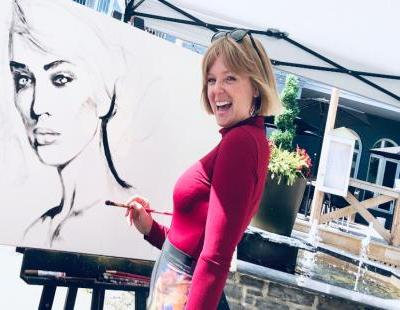 Cynthia Coulombe Bégin, une artiste peintre née !