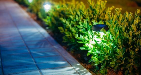 Illuminez votre aménagement paysager!