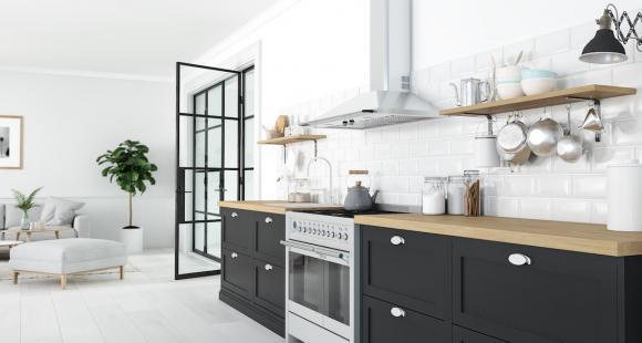 Tendance design 2019 : la cuisine et la salle de bain.