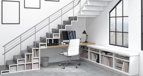 Solutions pratiques pour aménager son escalier