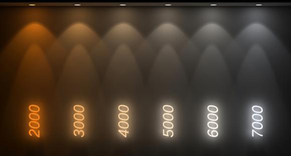 Quelle température de couleur DEL choisir ?