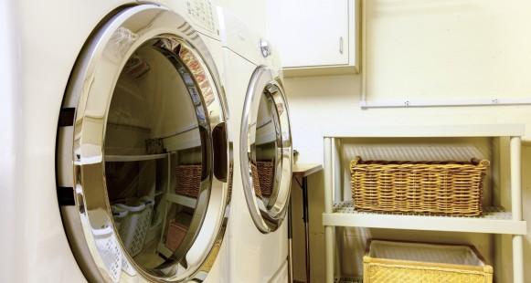 Une salle de lavage pratique et design !